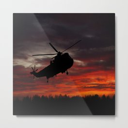 Sunrise Search And Rescue Metal Print