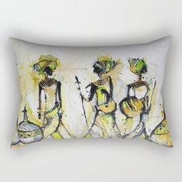 African Pride 4 Rectangular Pillow