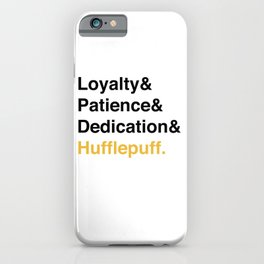 Modern House Traits - Yellow iPhone Case