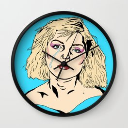 The Weeping Debbie Harry Wall Clock