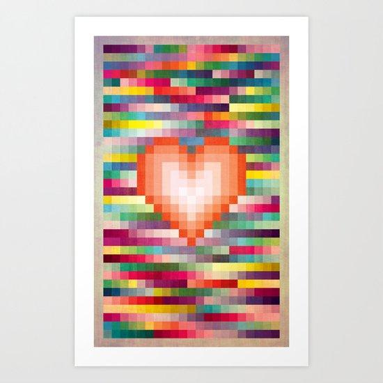 Mega ☐ Love_Grunge Art Print
