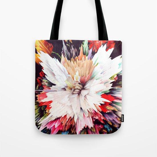 Floral Explosion Tote Bag