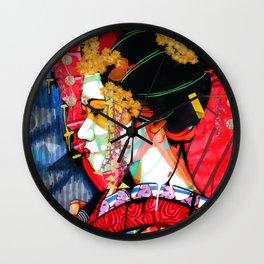 American Geisha Wall Clock