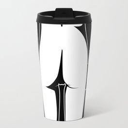 Nude Black and white art Travel Mug