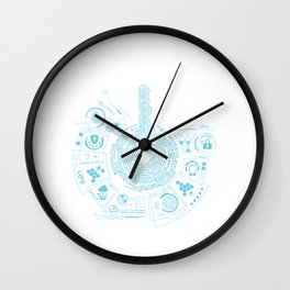Lock Picker Locksmithing Locksport Gift The Master Key Lock Picking Wall Clock