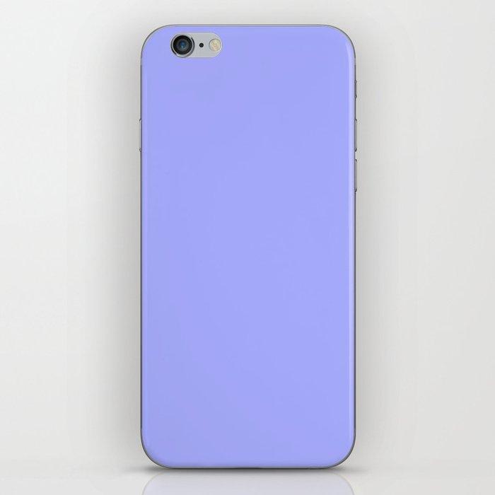 Pastel Periwinkle Blue iPhone Skin