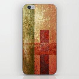 Converge, Abstract Grunge Art iPhone Skin