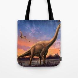 Jurassic Dinosaurs Tote Bag