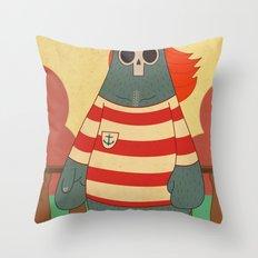 King of Pirates Throw Pillow