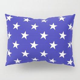 Stars (Navy & White Pattern) Pillow Sham