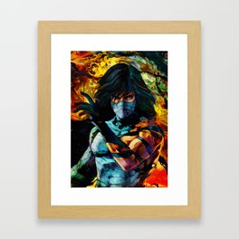 Colorful Shinigami Framed Art Print