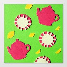 Apple Green Tea Canvas Print