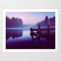 Reflections Of Winter Art Print