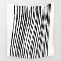 birch Wall Tapestries featuring Birch by ilyya