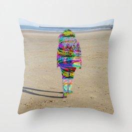 Beach Phaser Throw Pillow