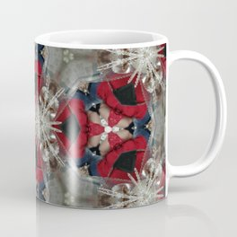 red blue Coffee Mug