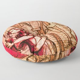As You Like It - Shakespeare Romance Folio Illustration Floor Pillow