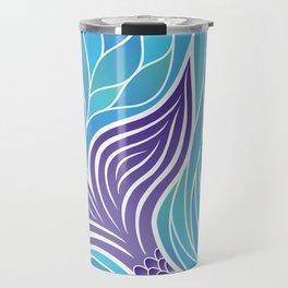 Purple Mermaid's Tail Travel Mug