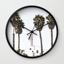 Pismo Beach Hotel Wall Clock