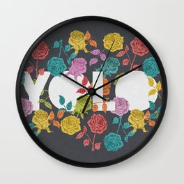 //  YOU ONLY LIVE ONCE Wall Clock
