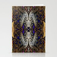 ornate elephant Stationery Cards featuring Ornate by RingWaveArt