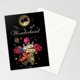 I Found Myself In Wonderland - Alice In Wonderland Stationery Cards