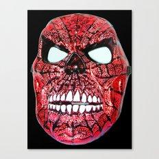 Spidey Skull Canvas Print