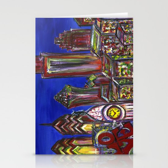 Philly Skyline LOVE Stationery Cards