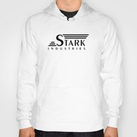 arya stark Hoodies featuring Stark Industries by jasonschaefer