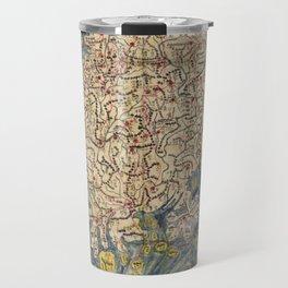 Chŏlla-namdo & Chŏlla-pukto Chŏndo, Korea Map (c 1800) Travel Mug