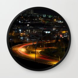 Tacoma Nights Wall Clock