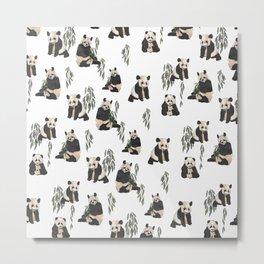 Pandas! Metal Print