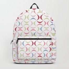 Color waves pattern Backpack