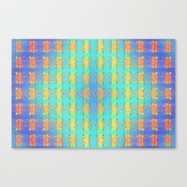 0607 Pattern by sauces ... Canvas Print