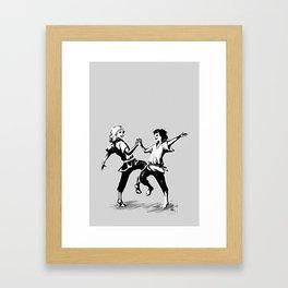 we shall dance Framed Art Print