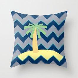 Sea you there - sealife Throw Pillow