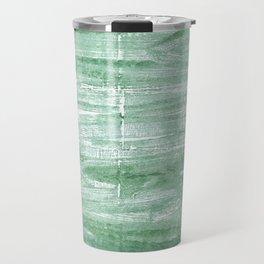 Turquoise green Travel Mug
