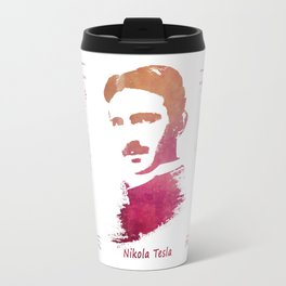 Nikola Tesla - Apparatus for aerial transportation Travel Mug