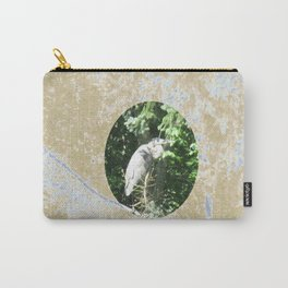 Great Blue Heron Bird Lover Carry-All Pouch