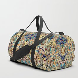 Drawing Floral Zentangle G240 Duffle Bag