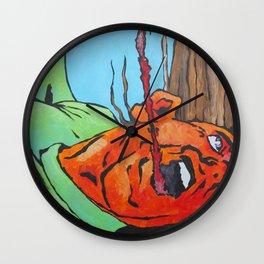 Jab Wall Clock