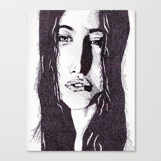 ??? Girl Canvas Print