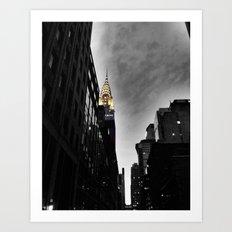 Chrysler Building, New York City Art Print
