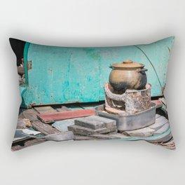 Old Pot Rectangular Pillow