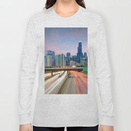 Chicago 02 - USA Long Sleeve T-shirt