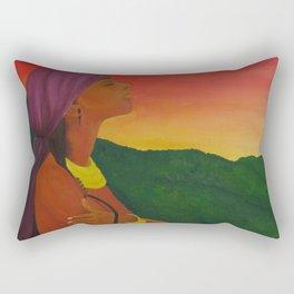 At Peace (With Myself) Rectangular Pillow