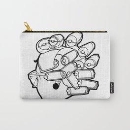 Mom in Rollers Carry-All Pouch