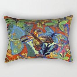Butterfly Tree I Rectangular Pillow
