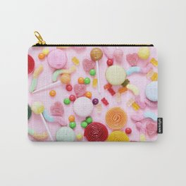 Candy Print Carry-All Pouch