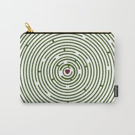 The maze to your heart Carry-All Pouch
